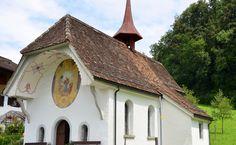 Die Kapelle im St. Franziskus Morschach eine wahre Fundgrube auch für Ahnenforscher.   /    The chapel at St. Francis Morschach a treasure trove forgenealogists.