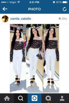 Camila cabello fashion women's cute outfit
