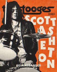 Iggy And The Stooges 'Gimme Danger' - Scott Asheton