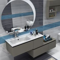 Check out this Bathroom Idea for your projects The post Bathroom Idea - 354728976839443978 appeared first on My Building Plans South Africa. Bathroom Cost, Bathroom Vanity Cabinets, Laundry In Bathroom, Bathroom Furniture, Bathroom Interior, Bathroom Countertop Design, Bathroom Storage Solutions, Guest Toilet, Modern Bathroom Decor