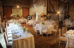 Leez Priory Coach House - Wedding Breakfast