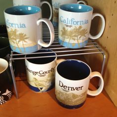 #starbucks coffee mugs! I like to get them from new cities I go to!