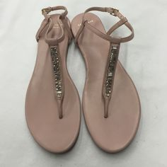 Cole Haan GRAND.OS Sandals size 9 Beautiful sandals and perfect for summer. Have been worn once. No missing stones. Inside is clean. ***All Proceeds Support WHW's Mission*** Cole Haan Shoes Sandals