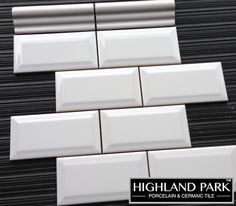 $2.99 a Square Foot Beveled 3x6 Ceramic Subway Tile. Free Shipping thru to Summer 2016 (maybe longer but that is projected stock length). We have quarter round and Chair Rail to Match. Great product to go on the wall and a Carrara Hexagon for $8.95/SF and Free Shipping on the Floor @thebuilderdepot. #beveled3x6