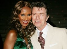 david+bowie+and+iman+daughter+alexandria | Iman & David Bowie | French Fashions