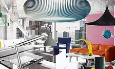 Fluorescent Modern - trends in home design for 2012 and 2013