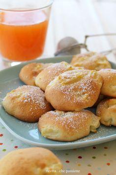 ricotta...che passione - storie di cucina naturale -: Tortelli di mele al forno