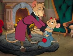 Barrie Ingham and Susanne Pollatschek in The Great Mouse Detective Disney Amor, Walt Disney, Disney Couples, Disney Magic, Disney Pixar, Disney Characters, Disney Bound, Disney Animated Movies, Cartoon Movies