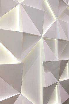 White Wall Candy Wall Panel Design