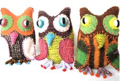 Twoolies – Handmade Wool Animals on http://www.bellissimakids.com