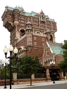 Tower of Terror, Tokyo Disney Version Voyages, www.versionvoyages.fr