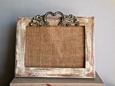 Rustic Picture Frame 5x7/Wood UpCycled/Paint by PippinPost on Etsy