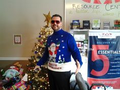 Yup gotta another one! In it to win it but I can't win my own contest! Cast your votes now on our HFC fan page and let us know which sweater you think should win! Dr. Matthew Herba, Winter Springs, Florida, 32708, Chiropractor, Holistic, Christmas