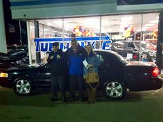 Tony and Melissa Pullen with their Sales Associate, Johnny Dickens. Thanks again, Tony & Melissa, we do appreciate your support 😉👍 #TurnpikeFord