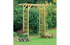Small pergola or archway. Perfect for garden entrance.