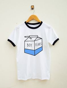 Boy Tears Shirt Cute Shirt With Saying Funny by SassyFanTees