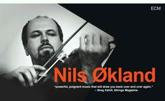 "Nils Økland is an innovative violinist and Hardanger fiddle master who is creatively expanding the range of the traditional music of his homeland, Norway. He describes his music as a ""hybrid between the poetry of folk music and the energy of punk""… He will come to the United States to play for the very first time both in duo and with the Kjølvatn band performing music from his ECM recordings."