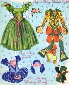 Merrill Ballerina Paper Dolls - Sharon Souter - Picasa Web Albums