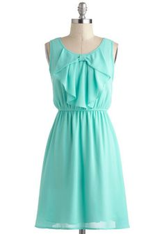Mint green summer dresses with a par of boots for a simple look for bridesmaids...love!