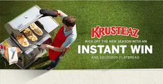 Win a Weber Grill with Krusteaz