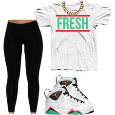 Im Fresher Than You Hoe ♡ HahaHaha by prettygirlnunu on Polyvore featuring Club Manhattan