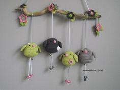 Игрушки вязанные крючком - фото