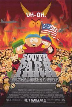 South Park: Bigger, Longer & Uncut Movie Poster