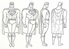 SUPERMAN Model Sheet