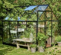 Halls x Qube Greenhouse with black frame and toughened glazing. Buy greenhouse, accessories and installation at great prices online now! Buy Greenhouse, Greenhouse Plans, Perfect Image, Perfect Photo, Love Photos, Cool Pictures, Photographs Of People, Safety Glass, Water Plants