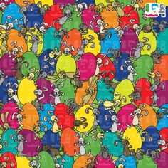Zoek de niet paashaas! Art For Kids, Crafts For Kids, Can You Find It, School Organisation, Wheres Wally, Search And Find, Hidden Pictures, Brain Teasers, Teaching Math