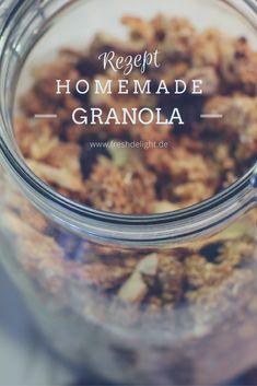 Homemade crunchy muesli // granola #casserole #keto #ketocasserole #simple