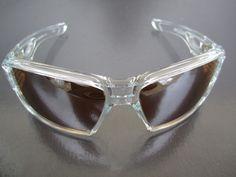 NEW Oakley Eyepatch 2 Sunglasses Clear Frame with Titanium Iridium Lens #Oakley #Sport