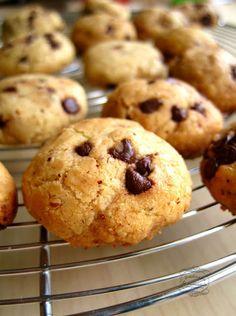 Recette de biscuits chocolat et noisette No Cook Desserts, Cookie Desserts, My Recipes, Cake Recipes, Cookies Et Biscuits, Puddings, Coco, Cake Decorating, Muffins