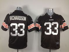 $22 for Men's Nike Cleveland Browns #33 Trent Richardson Game Team Color Jersey. Buy Now! http://55usd.com/Men-s-Nike-Cleveland-Browns--33-Richardson-Game-Team-Color-Jersey-productview-135281.html #Nike #NFL #Cleveland_Browns #33 #Trent_Richardson #Jersey #55USD