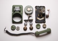 "1956 Western Electric Telephone. Model ""G3"""