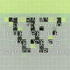 Positive Disintegration - Wikipedia, the free encyclopedia