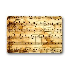 Door Mat Vintage Music Note Art Pattern Doormat Rug Indoor/Outdoor/Front Door/Bathroom Mats Floor Mat 23.6inch X 15.7inch Music Note doormats http://www.amazon.com/dp/B010AKLTH2/ref=cm_sw_r_pi_dp_-44Wwb0AS9BR2