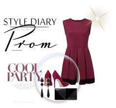"""""""#8#cool#party#"""" by mirela-alerim ❤ liked on Polyvore featuring Gianvito Rossi, UN United Nude and Givenchy"""