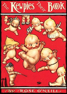 Kewpies--or Not? posted by Karen Kolavalli-If you really want to collect kewpies and kewpie memorabilia, take the time to educate yourself--there are plenty of books and websites that will help you. Paper Dolls, Art Dolls, Vintage Children's Books, Vintage Antiques, Vintage Greeting Cards, Antique Dolls, Cupid, Childrens Books, Illustrators