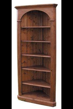 Corner book shelf im thinking for figurines though :-)