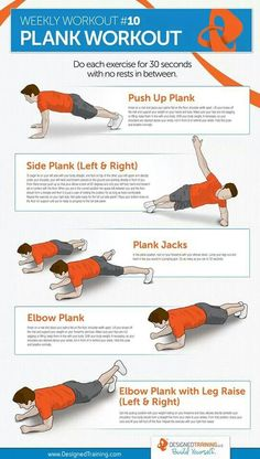 Plank Workout... #workout #wod #fitness #crossfit #exercises