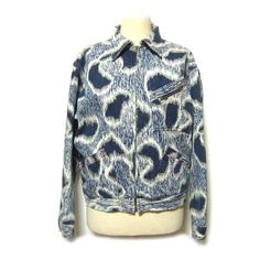 【楽天市場】【USED】 80's 's vintage Vivienne Westwood England レオパード柄デニムブルゾンジャケット leopard pattern denem blouson jacket (MAN マン ヴィヴィアンウエストウッド ビビアン) ■税抜¥3000以上 日本全国【送料無料】■K 【中古】:JIMU