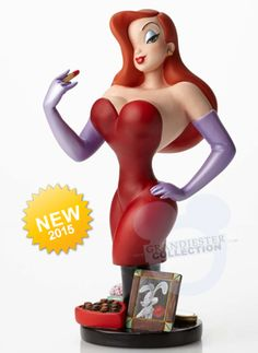 Jessica Rabbit Bust by Grand Jester Collection - http://www.imnotbad.com/2015/06/coming-soon-jessica-rabbit-bust-by.html
