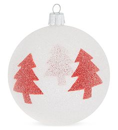 Texturise your Christmas look this year with this beaded trees bauble from Ornex. With a modern, Nordic feel, this frosty ornament will make a great addition to your tree's trimmings. Christmas Bulbs, Xmas, Bauble, Holiday Decor, Trees, Home Decor, Christmas Light Bulbs, Christmas, Homemade Home Decor