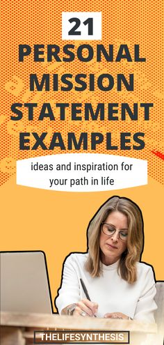 Personal mission statement examples from people who've left serious impact on the world. How to create your own personal mission statement examples. What Is Success, Career Success, Career Change, Career Goals, Finding Purpose In Life, Purpose Driven Life, Career Ideas, Career Advice, Mission Statement Examples