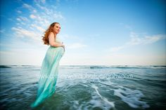 want a maternity shot like this on the beach!