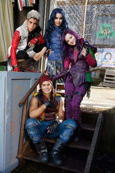 Disney channel original movie- Descendants