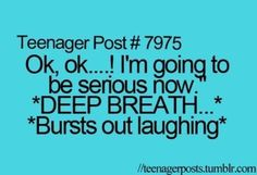 especially when someone gets in trouble and its funny