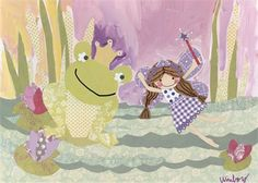 Rosenberry Rooms is offering a 10% discount on your purchase of $350 or more.  Share the news and take advantage of the savings! The Fairy and the Frog Canvas Wall Art #rosenberryrooms