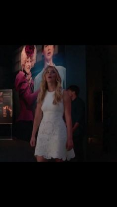 Jennifer And Josh Visiting The Hunger Games Exhibit.